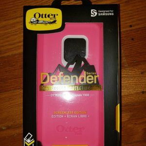 NWT Pink Samsung Galaxy S9 OtterBox Phone Case!